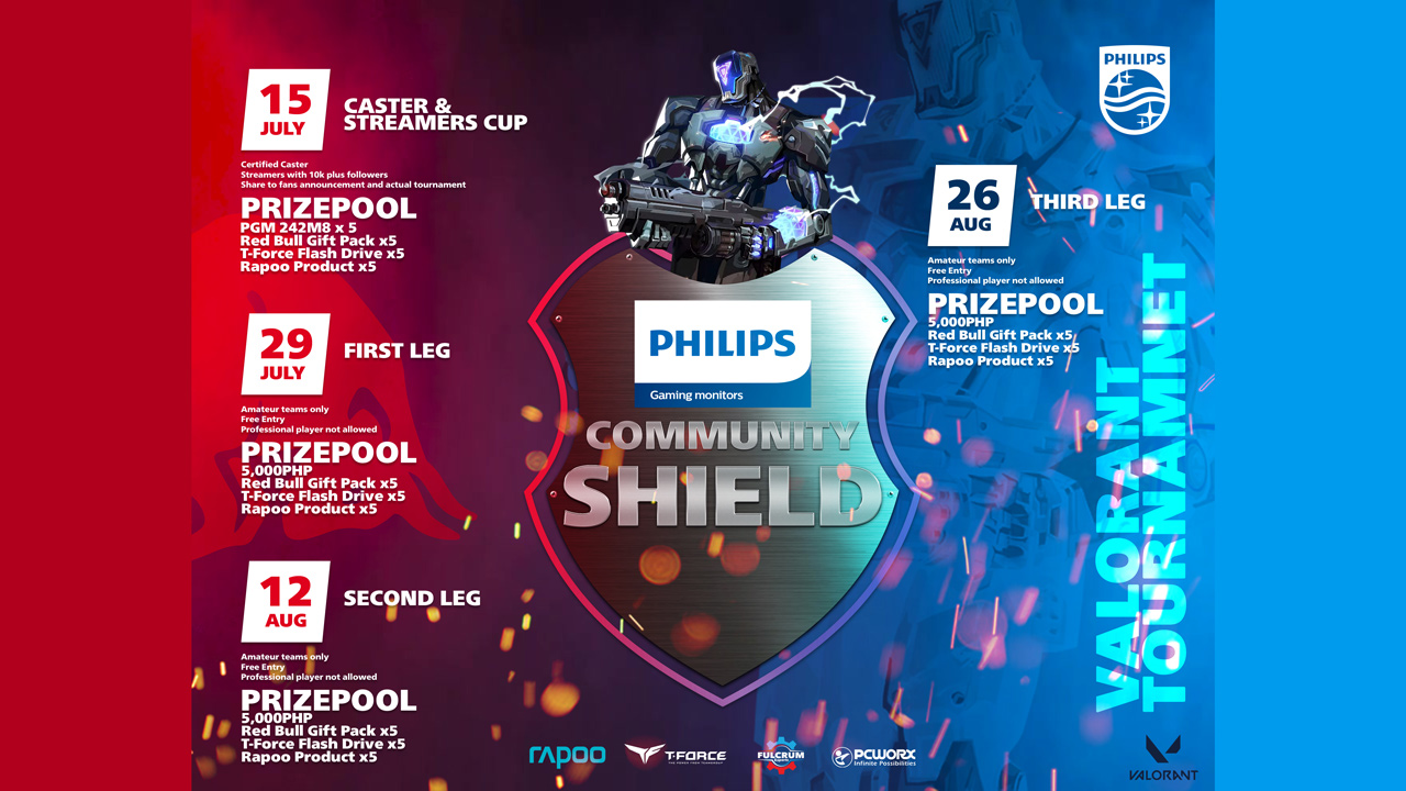 Philips Gaming Launches Valorant Community Shield