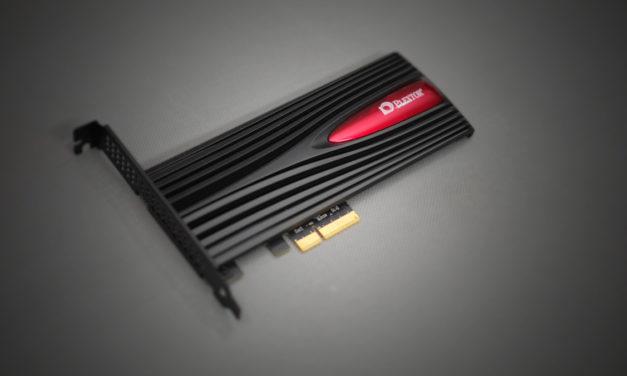 Review   Plextor M9PEY NVME 512GB RGB PCI-E SSD