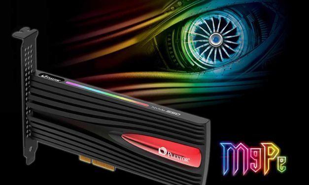 Plextor Debuts M9Pe Series PCI-E SSD For Gaming