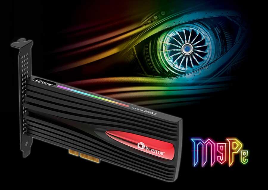 Plextor Debuts M9Pe Series PCI-E SSD For Gaming
