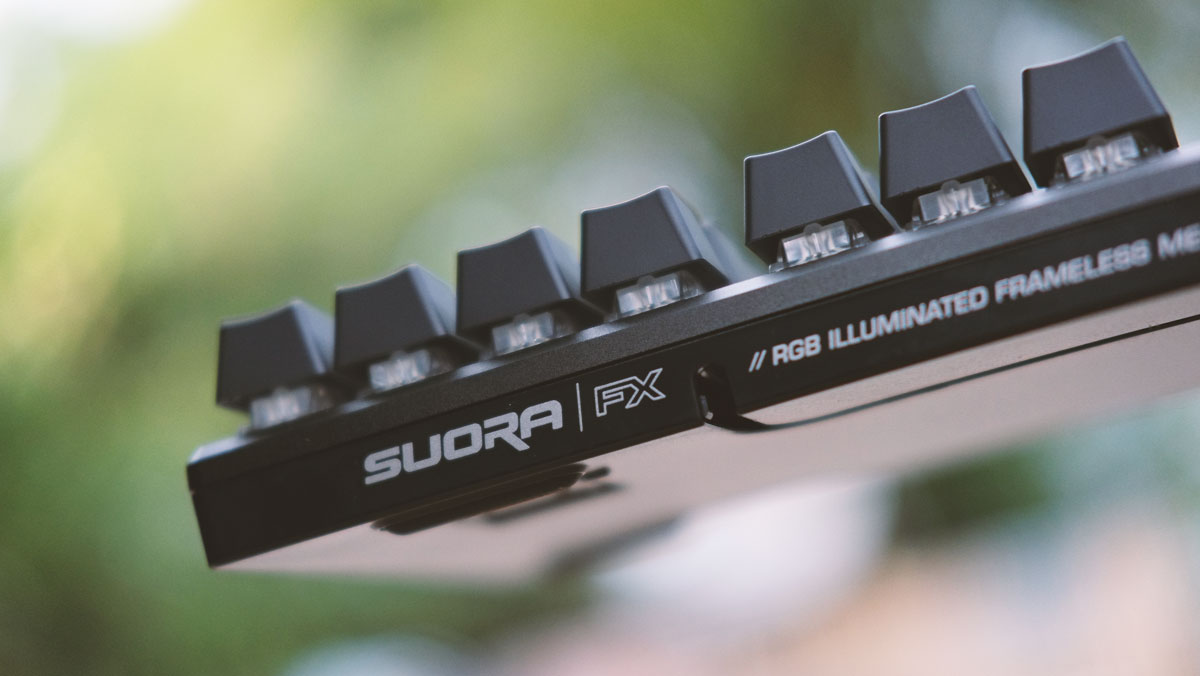 the roccat suora fx rgb mechanical gaming keyboard review. Black Bedroom Furniture Sets. Home Design Ideas