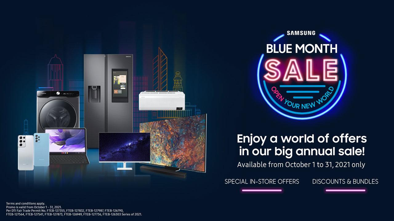 Samsung Deals at the 2021 Blue Month Sale