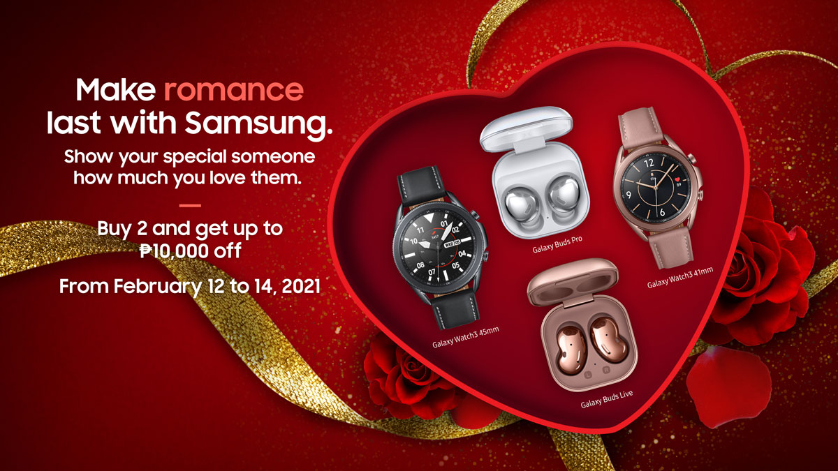 Samsung Launches 2021 CNY and Valentine's Day Promo