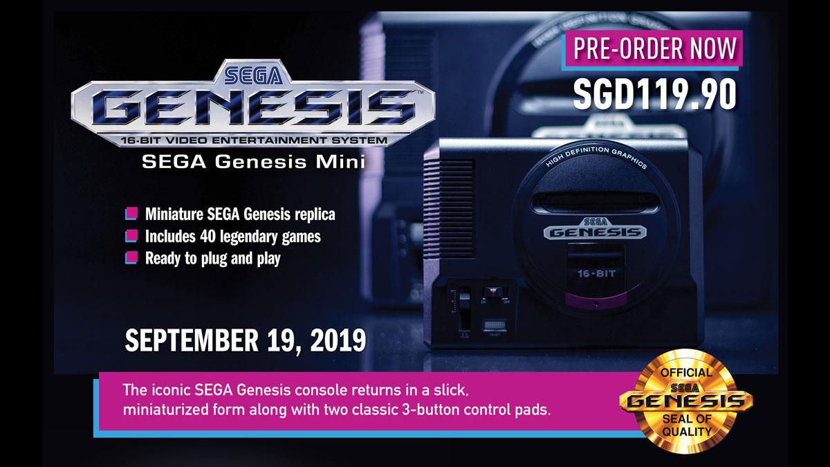 SEGA Genesis Mini Gets SEA Release Date and Pricing