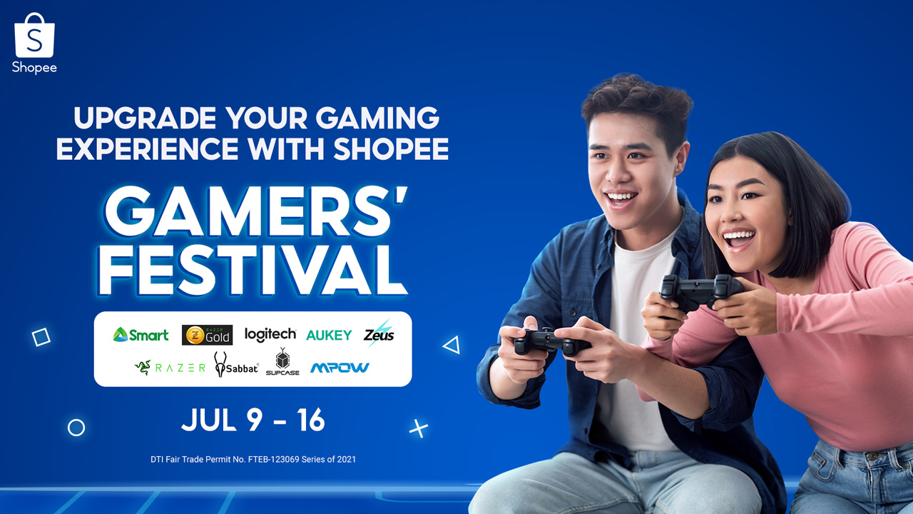 Shopee Partners with Top Brands to Level Up Gaming Experience