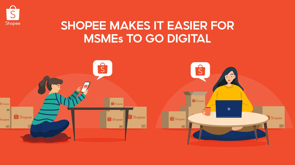 Shopee Makes Going Online Easy for MSMEs