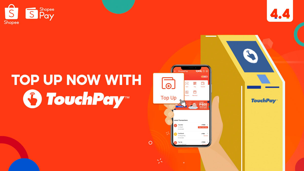 Shopee Adds Over 600 TouchPay Locations Nationwide