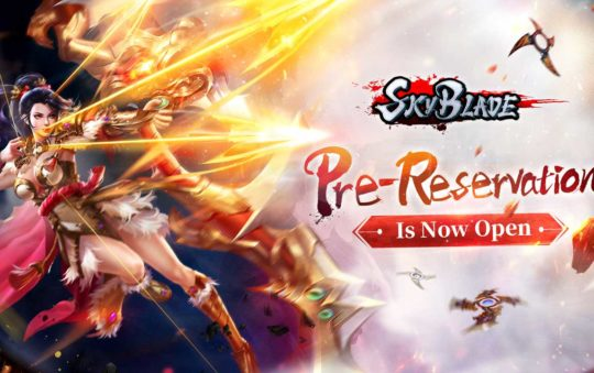 SkyBlade Mobile Opens Pre-reservation for Android and iOS