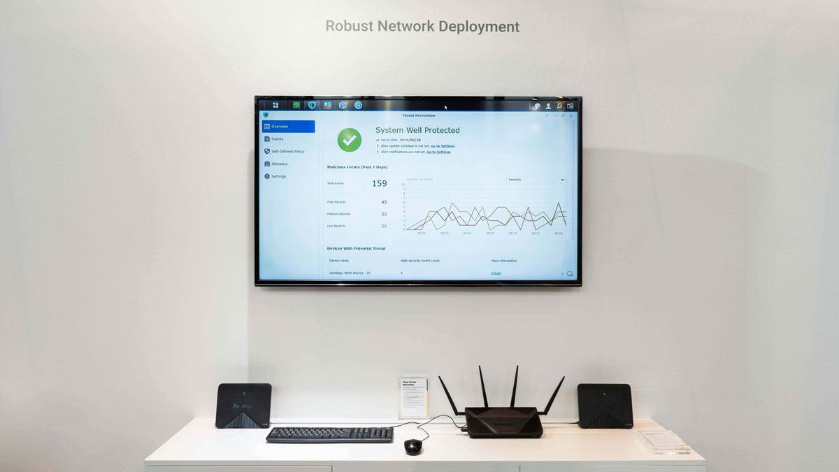 Synology Solution Exhibition2019 Showcases All-around Data Management