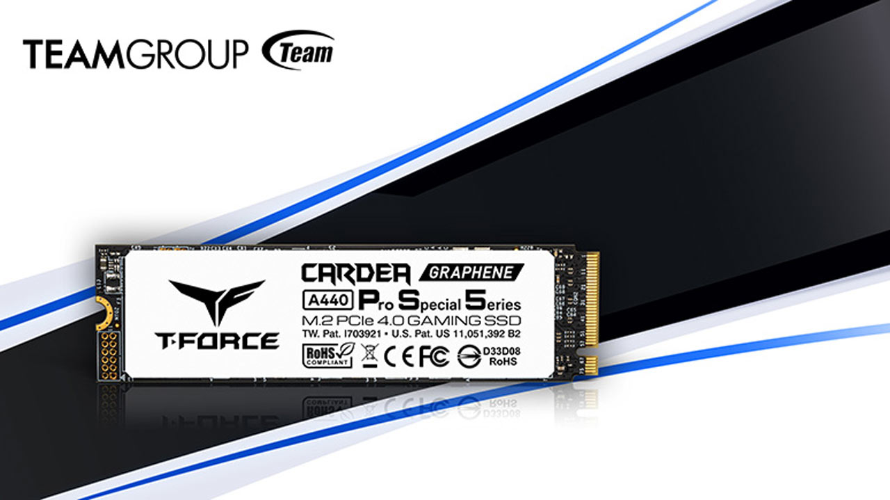 TEAMGROUP Launches T-FORCE CARDEA A440 Pro SSD