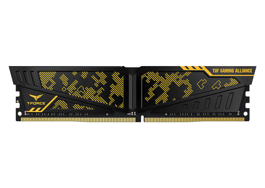 TEAMGROUP Unveils T-FORCE VULCAN TUF Gaming Alliance DDR4