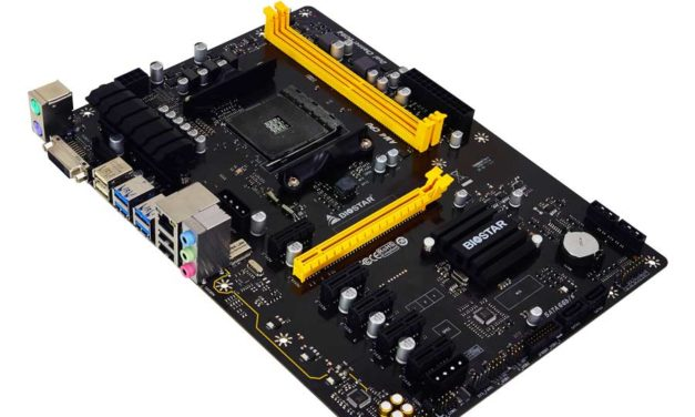 BIOSTAR TB350-BTC: First B350 Bitcoin AM4 Motherboard