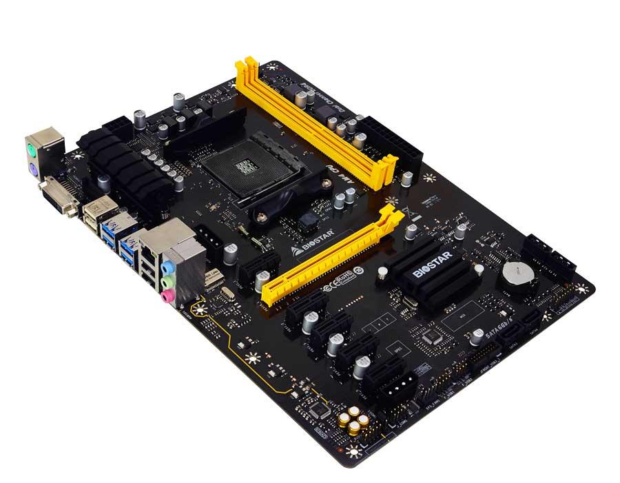 BIOSTAR TB350-BTC: First B350 Bitcoin AM4 Motherboard