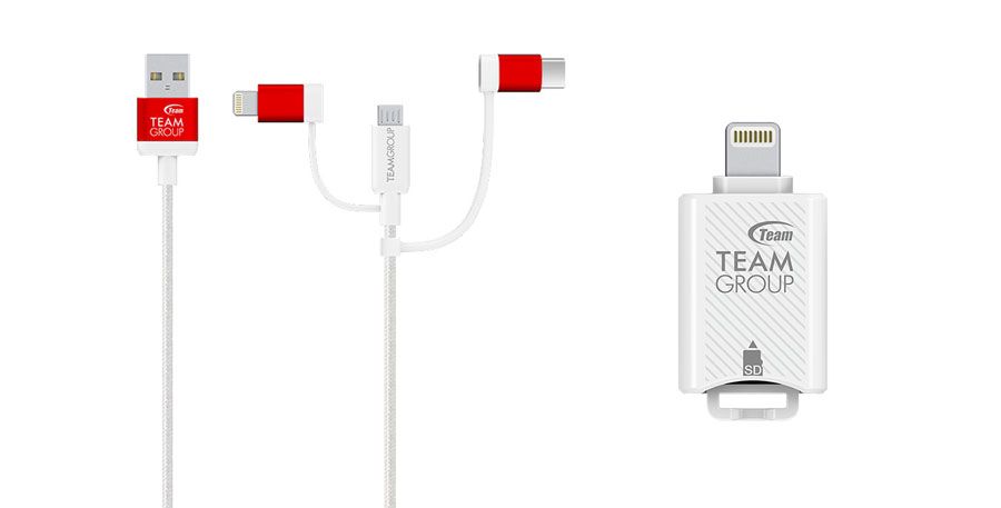 Team Group Announces MoStash Reader and WCOC Cable for iOS