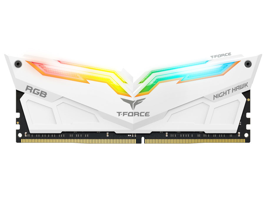 Team Group Dazzles at COMPUTEX With T-FORCE NIGHT HAWK RGB Memory