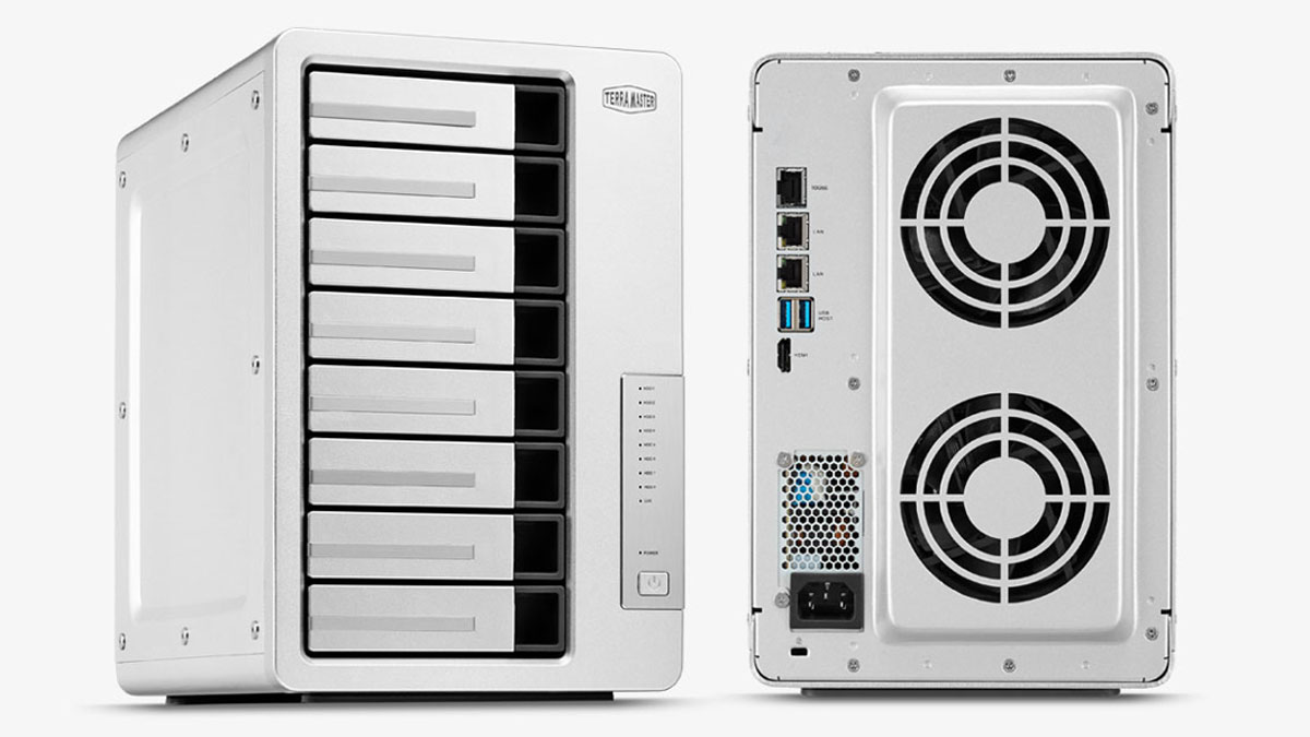TerraMaster Redesigns F8-422 8-Bay NAS with 10GbE Support