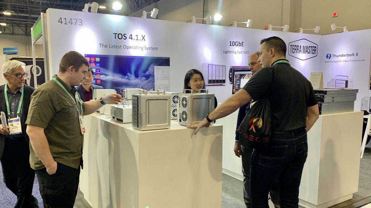 TerraMaster Concludes a Successful CES 2020 Showcase