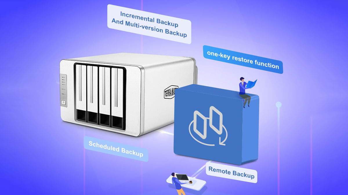TerraMaster Launches NAS Duple Backup Application