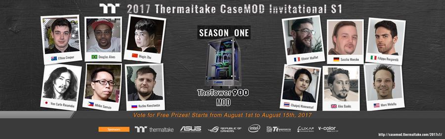 Thermaltake-2017-CaseMOD-Invitational-Season-1-PR-1