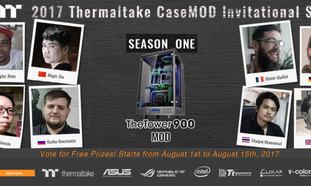 Vote for Your Favorite Thermaltake 2017 Modder and Win Cool Prizes