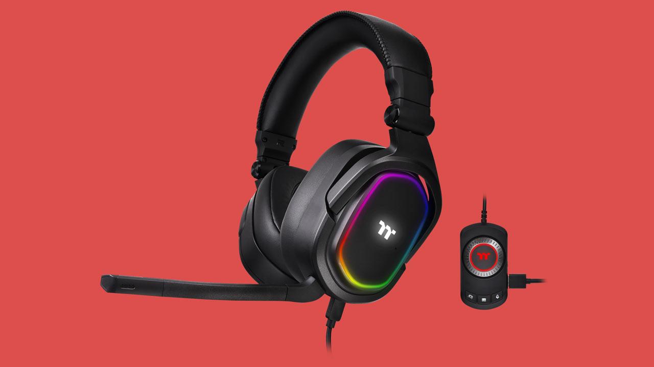Thermaltake Announces ARGENT H5 RGB 7.1 Surround Headset