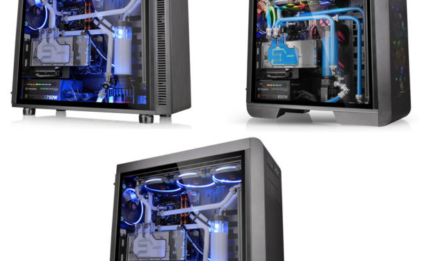 Thermaltake Releases Tempered Glass Edition Chassis Series