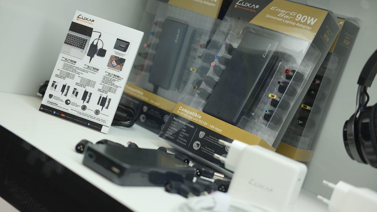 LUXA2 Shows Off EnerG Bar Power Adaptors at COMPUTEX 2017
