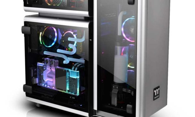 Thermaltake Reveals The Level 20 Full-Tower Chassis at CES 2018
