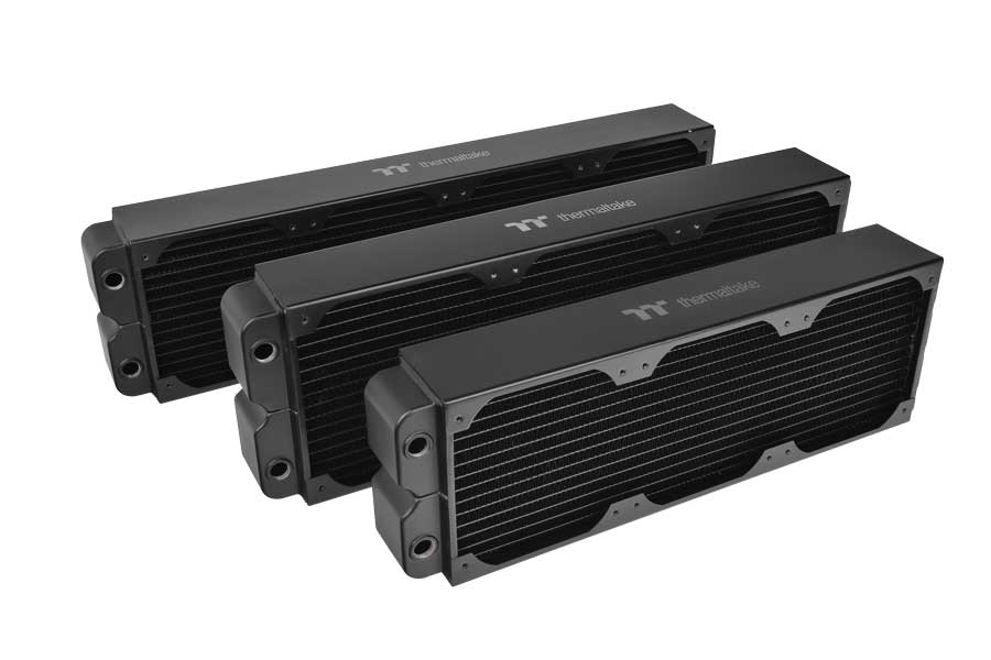 Thermaltake Shows Off Pacific CL Copper Radiators Series