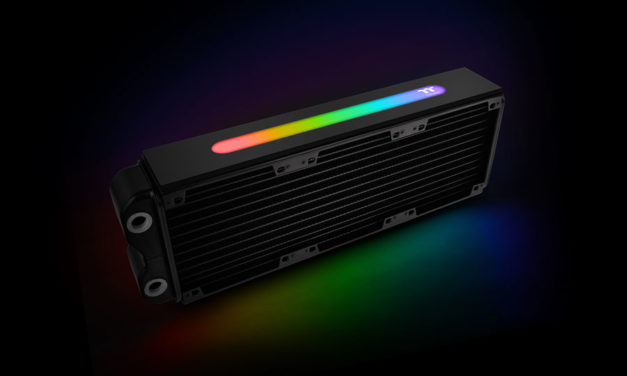 Thermaltake Releases the First RGB Radiator