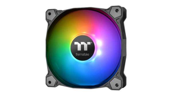 Thermaltake Releases The Pure Plus 12 RGB Radiator Fan