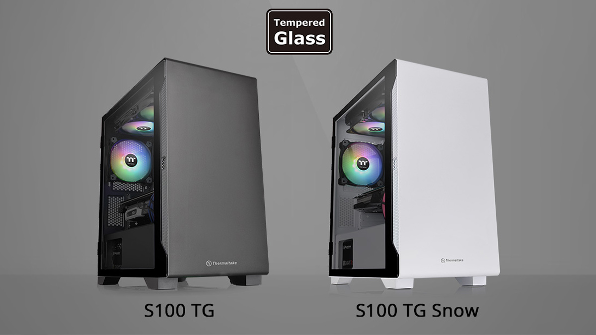 Thermaltake Announces S100 TG Micro Chassis