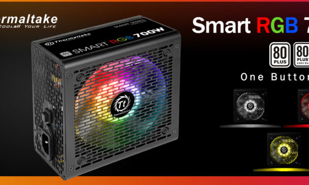 Thermaltake Releases The Value Oriented Smart RGB PSU Series
