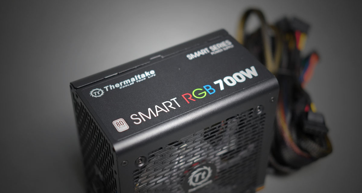 Preview | Thermaltake Smart RGB 700W PSU