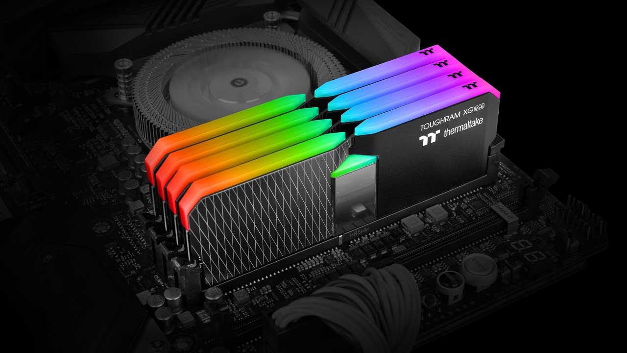 Thermaltake Launches High Capacity TOUGHRAM XG RGB Memory Kits