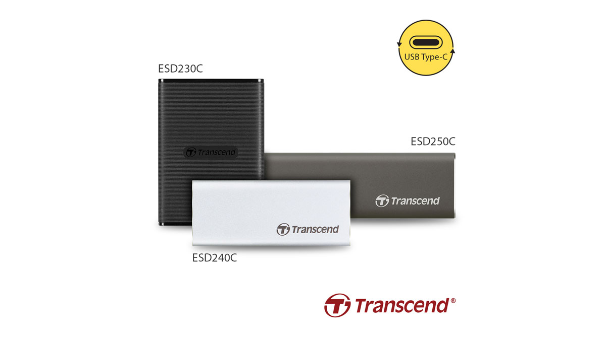 Transcend Expands Portable SSD Lineup with 3 USB Type-C Models