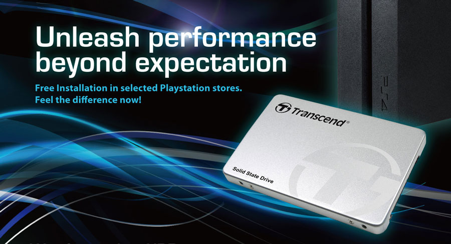 "Transcend Offers Free PlayStation 4 ""HDD to SSD"" Installation"