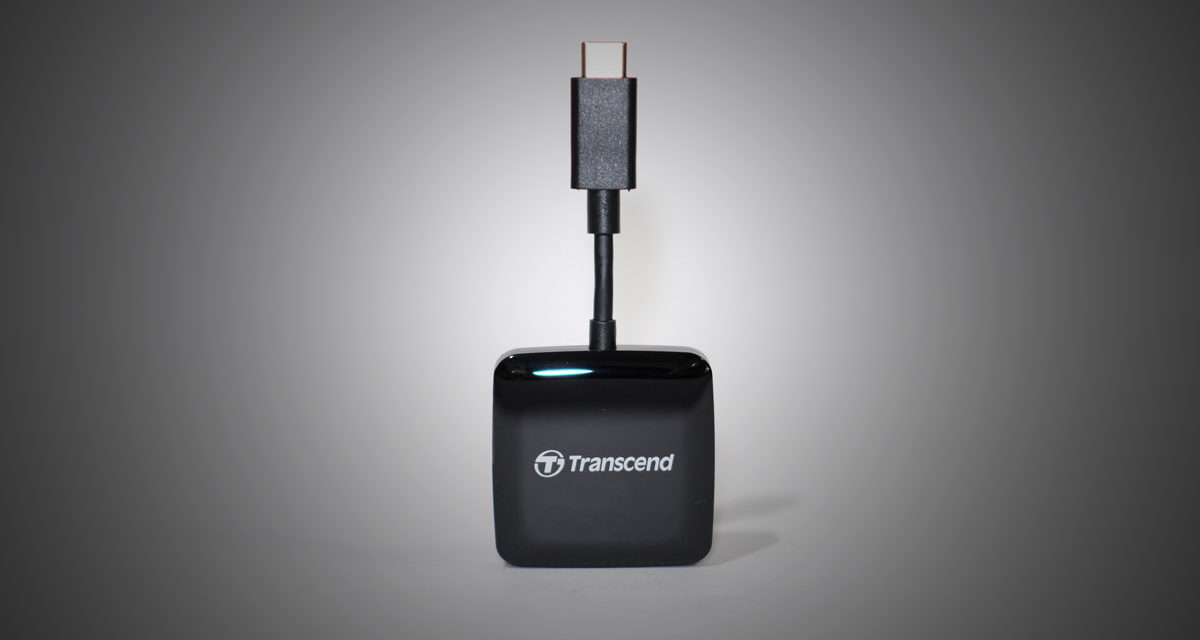 Review | Transcend Smart Reader RDC2 USB Type-C OTG