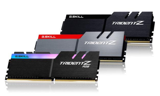 G.SKILL Releases 4266MHz Trident Z RGB in 32GB Kit