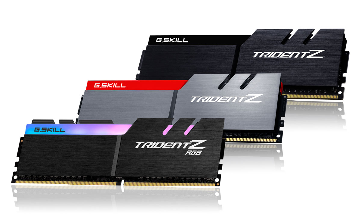 G.SKILL Releases Trident Z Series For The Z370 Platform