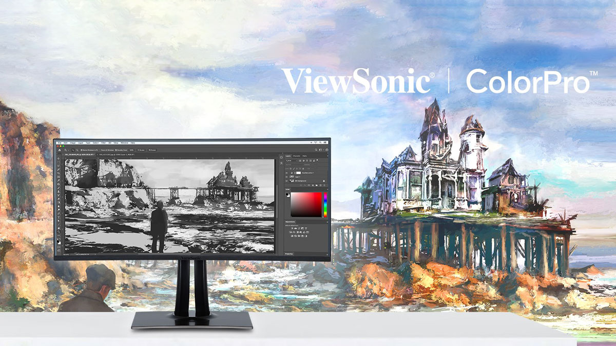 ViewSonic Launches ColorPro VP68a Professional Monitor Series