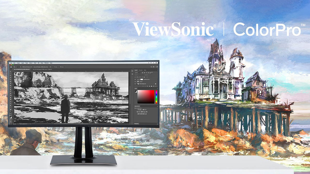 ViewSonic Launches ColorPro VP68a Pantone Validated Monitors