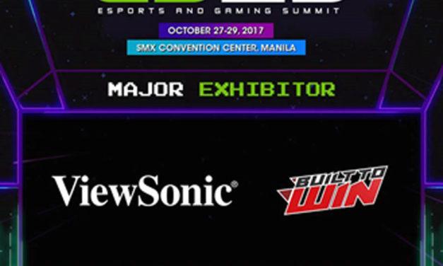 ViewSonic to Showcase XG Series Gaming Monitors at ESGS 2017