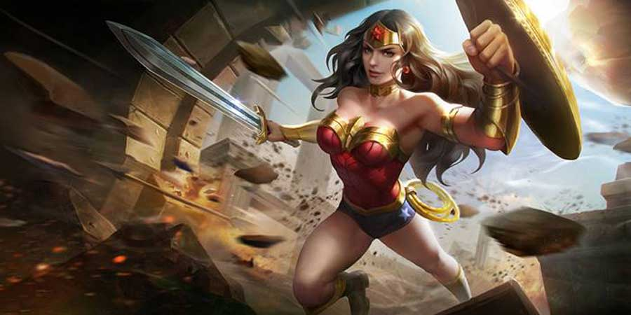 Wonder Woman to Land in the AOV Valiant Server