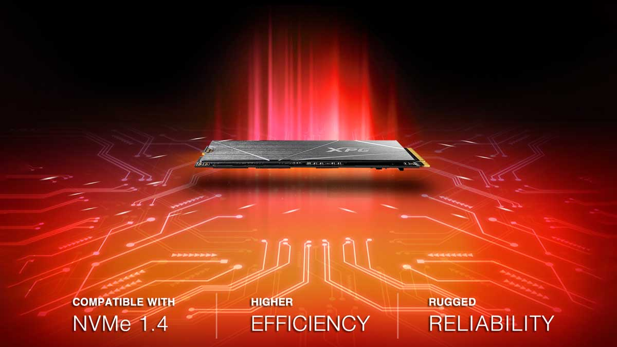 XPG Launches GAMMIX S50 Lite PCIe Gen4 SSD