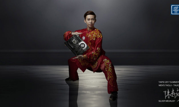 Taichi Silver Medalist Yu-wei Chen Endorses ASRock Taichi Motherboards