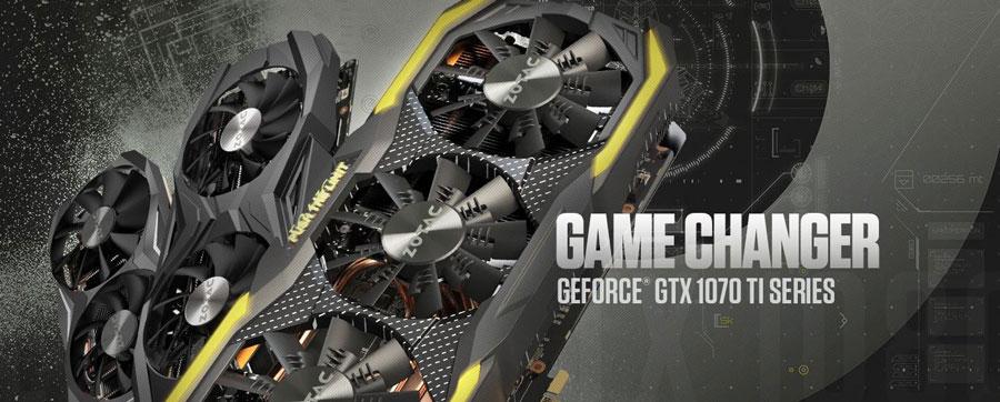 ZOTAC Releases Their GeForce® GTX 1070 Ti Series