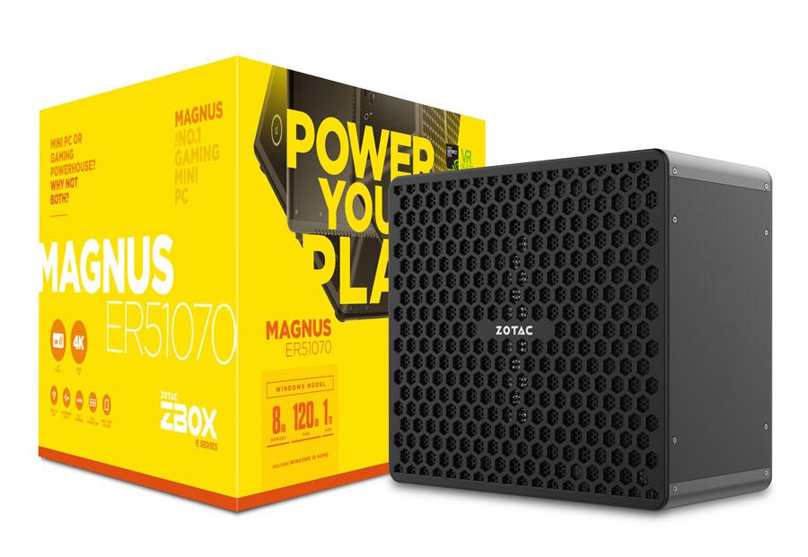 ZOTAC Updates MAGNUS Mini PC with Ryzen CPU
