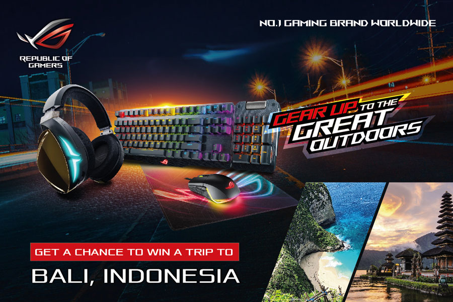 ASUS ROG Gear Up to the Great Outdoors Photo Contest