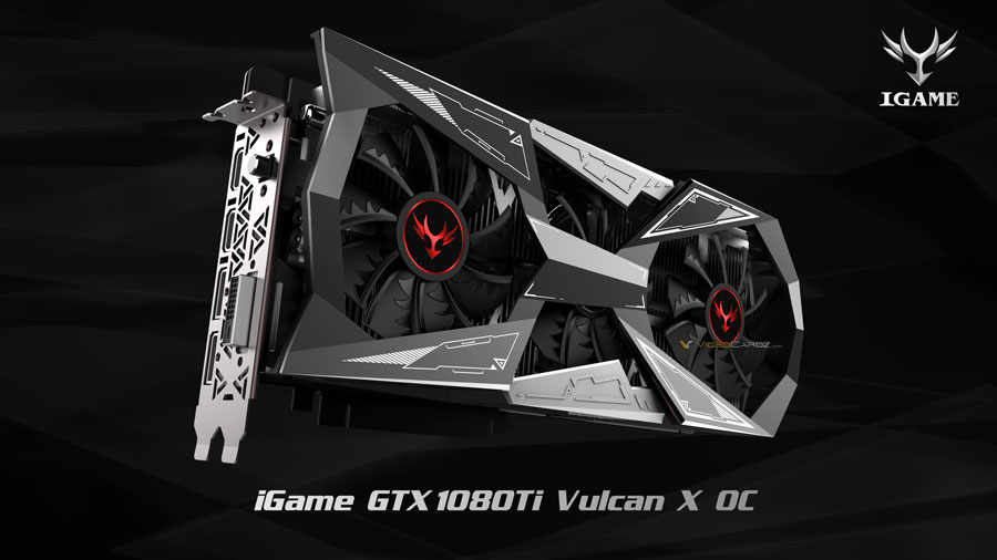 COLORFUL Goes All-Out With The iGame GTX 1080 Ti Vulcan X OC